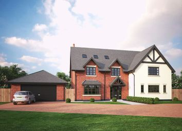 Thumbnail 5 bedroom detached house for sale in Swan Farm Lane, Audlem Road, Woore, Crewe