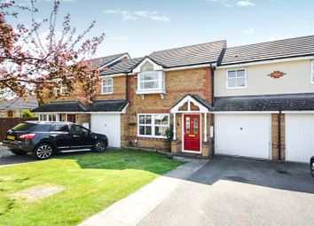 Thumbnail 3 bed terraced house for sale in Decouttere Close, Church Crookham, Fleet