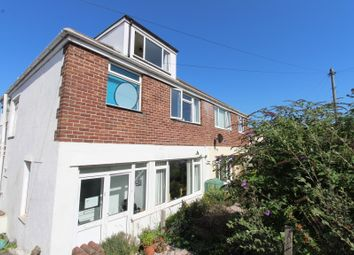 Thumbnail 3 bed semi-detached house for sale in The Knoll, Woodford, Plymouth, Devon