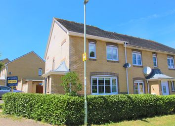 Thumbnail 3 bed end terrace house for sale in Wiltshire Crescent, Highfields, Basingstoke