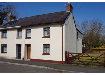 Thumbnail 3 bed semi-detached house for sale in Church Bank, Llandovery