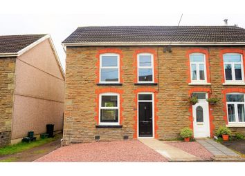 Thumbnail 2 bedroom semi-detached house for sale in Rhiw Road, Rhiwfawr