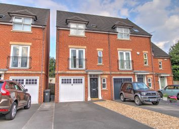 Thumbnail 3 bed town house for sale in Messiter Mews, Willington, Derby