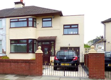 Thumbnail 4 bed semi-detached house for sale in Kingsway, Huyton, Liverpool