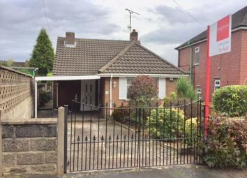 Thumbnail 2 bed bungalow for sale in Johnson Avenue, Milehouse, Newcastle Under Lyme, Staffs