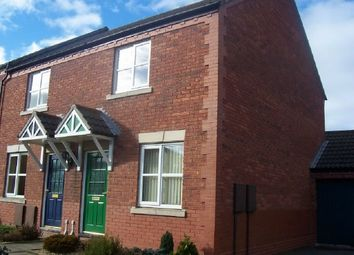 Thumbnail 2 bed semi-detached house to rent in Farringdon Avenue, Belmont, Hereford