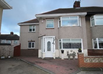 Thumbnail 3 bedroom semi-detached house for sale in Pauline Avenue, Fulwell, Sunderland