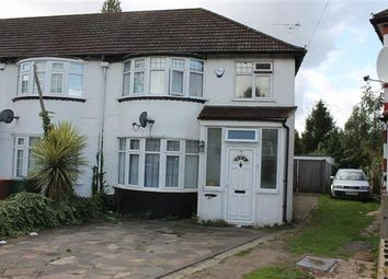 Thumbnail 3 bed semi-detached house to rent in Adderley Road, Harrow