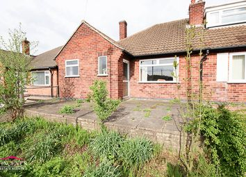 Thumbnail 2 bed bungalow for sale in Chislehurst Avenue, Leicester