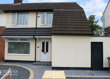 Thumbnail 2 bed semi-detached house for sale in Rudyard Avenue, Stockton-On-Tees, Durham
