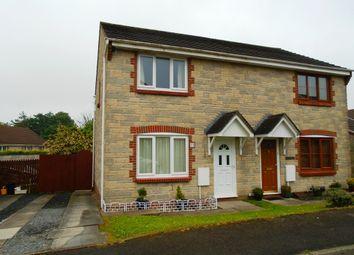 Thumbnail 3 bed semi-detached house for sale in Parc Morlais, Llangennech, Llanelli, Carmarthenshire West Wales
