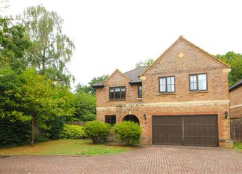 Thumbnail 5 bed detached house for sale in Ryelaw Road, Church Crookham, Fleet, Hampshire