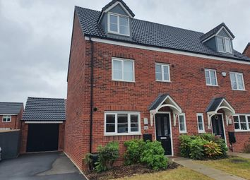 Thumbnail 4 bed semi-detached house to rent in Hurricane Road, Hucknall, Nottingham