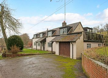 Thumbnail 4 bed detached house to rent in Crux Easton, Newbury