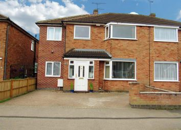 Thumbnail 5 bedroom semi-detached house for sale in West Street, Blaby, Leicester