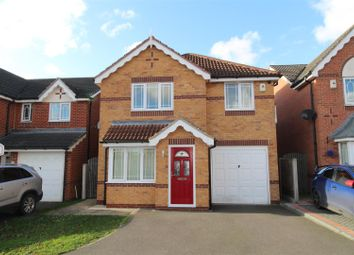 Thumbnail 4 bed detached house for sale in Oakham Drive, Carlton-In-Lindrick, Worksop