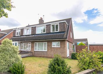 Thumbnail 3 bed semi-detached house for sale in Milford Drive, Carlton, Nottingham