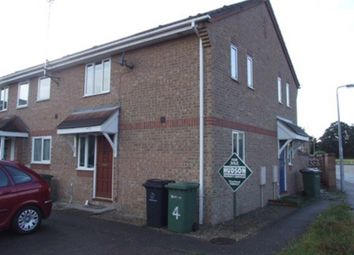 Thumbnail 1 bed terraced house to rent in Thistle Close, Thetford