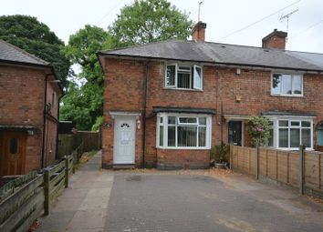 Thumbnail 3 bed end terrace house for sale in Longford Road, Kingstanding, Birmingham
