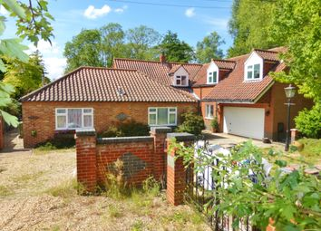 Thumbnail 4 bed detached house for sale in Station Road, Wendling
