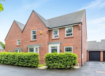 Thumbnail 4 bed detached house for sale in Waterlily Grove, Stapeley, Nantwich, Cheshire