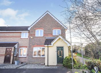Thumbnail 3 bedroom end terrace house for sale in Farthing Close, Braintree