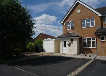 Thumbnail 3 bed town house to rent in Silverdale Close, Bury, Greater Manchester