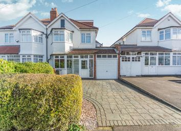 Thumbnail 4 bed semi-detached house for sale in Bushmore Road, Hall Green, Birmingham