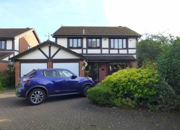 Thumbnail 4 bedroom detached house for sale in Camrose Gardens, Pendeford, Wolverhampton