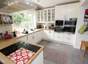 Thumbnail 2 bed semi-detached bungalow for sale in Church Path, Greenhithe, Kent