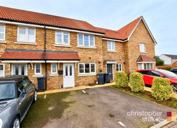 Thumbnail 3 bed terraced house for sale in Magnolia Way, Cheshunt, West Cheshunt, Hertfordshire