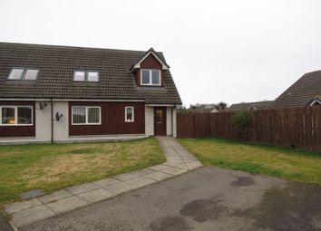 Thumbnail 3 bed semi-detached house for sale in Montrose Avenue, Auldearn, Nairn