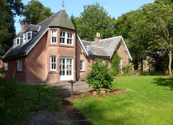 Thumbnail 4 bedroom detached house to rent in Peebles