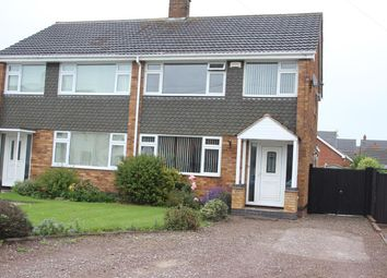 Thumbnail 3 bed semi-detached house for sale in The Common, Barwell, Leicester