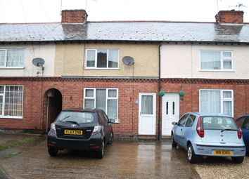 Thumbnail 2 bedroom terraced house to rent in Arnold Avenue, Wigston