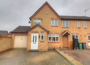 Thumbnail 3 bed end terrace house for sale in Ilmer Close, Rugby