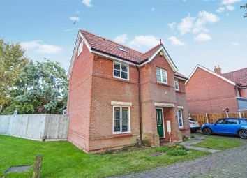 Thumbnail 4 bedroom detached house for sale in Stan Petersen Close, Norwich
