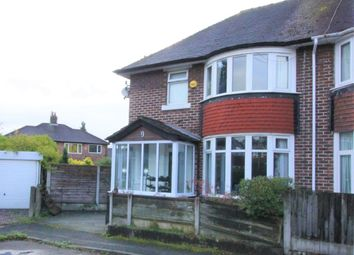 Thumbnail 3 bed semi-detached house for sale in Corda Avenue, Manchester