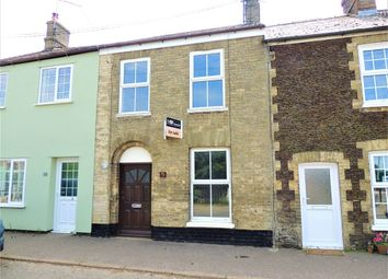 Thumbnail 2 bed terraced house for sale in Sluice Road, Denver, Downham Market