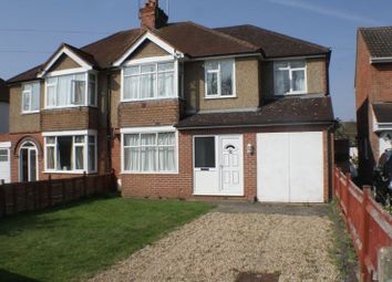 Thumbnail 4 bedroom semi-detached house to rent in Loddon Bridge Road, Woodley, Reading