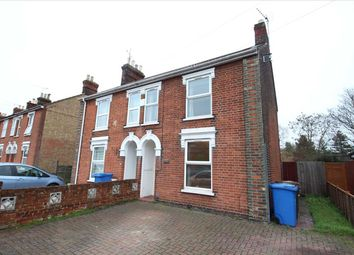 Thumbnail 2 bedroom semi-detached house for sale in Tomline Road, Ipswich