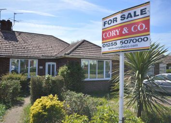 Thumbnail 2 bed semi-detached bungalow for sale in Ramsey Road, Dovercourt, Essex