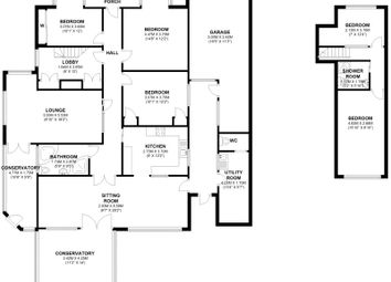 Thumbnail 5 bed bungalow for sale in Top Dartford Road, Hextable, Kent
