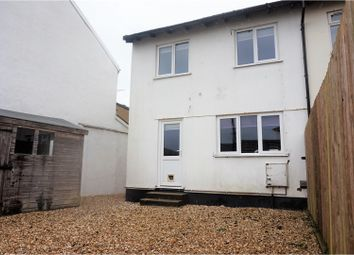 Thumbnail 3 bed end terrace house for sale in Church Grove, Barnstaple