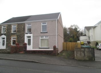 Thumbnail 3 bed semi-detached house to rent in Victoria Road, Waunarlwydd, Swansea.