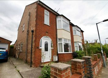 Thumbnail 3 bedroom semi-detached house for sale in Kensington Road, Ipswich