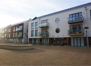 Thumbnail 2 bed flat for sale in Waterside Marina, Colchester