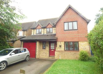 Thumbnail 4 bedroom detached house to rent in Pitchford Avenue, Buckingham