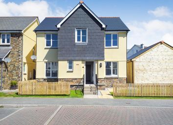 Thumbnail 4 bed detached house for sale in Carwollen Road, Carclaze, St. Austell