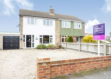 Thumbnail 3 bed semi-detached house for sale in Jubilee Road, North Somercotes